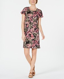 Karen Scott Printed Dress, Created for Macy's