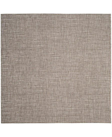 "Safavieh Courtyard Light Brown 6'7"" x 6'7"" Sisal Weave Square Area Rug"