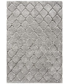 Safavieh Adriana Shag Light Gray 4' x 6' Area Rug