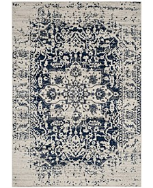 Madison Cream and Navy 10' x 14' Area Rug