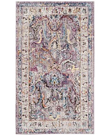 Safavieh Bristol Lavender and Light Gray 3' x 5' Area Rug