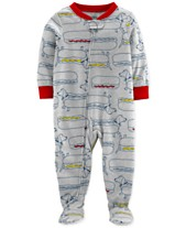 da126e6e01 Carter s Baby Boys Footed Hot Dog Pajamas