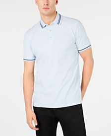 HUGO Men's Tipped Collar Polo Shirt