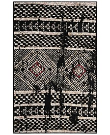 Safavieh Adirondack Black and Light Gray 3' x 5' Area Rug