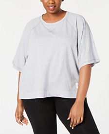 Calvin Klein Performance Plus Size Relaxed Top