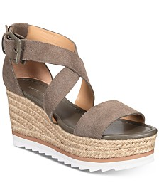 Marc Fisher Zendra Wedge Sandals