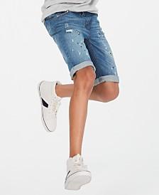 Epic Threads Big Boys Linden Denim Shorts, Created for Macy's