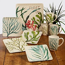 Sea Greens Dinnerware Collection