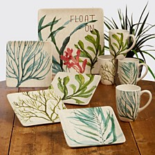 Certified International Sea Greens Dinnerware Collection