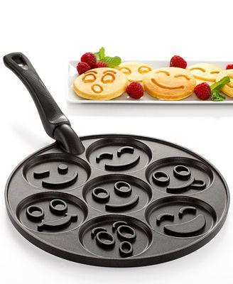 Nordic Ware Smiley Faces Pancake Pan Bakeware Kitchen