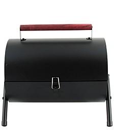 5 Piece Barrel BBQ Set with Wood Handle