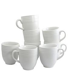 Plaza Cafe 15Ounce Mug, Set of 8
