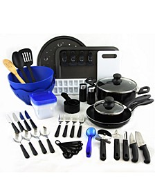 Total Kitchen 59 Piece Combo Set