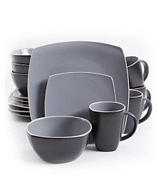 Soho Lounge Matte 16 Piece Dinnerware Set