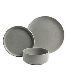 Stone Lava 12 Piece Dinnerware Set