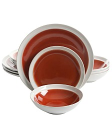 Clementine 12 Piece Dinnerware Set