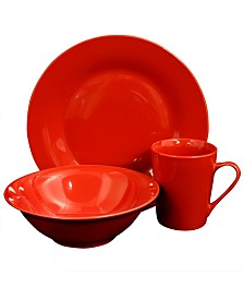 Carlton 12 Piece Dinnerware Set