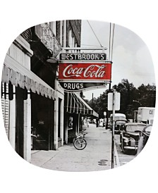 "Coca-Cola Coke Noir 12 Piece 10.5"" Dinner Plate Set"