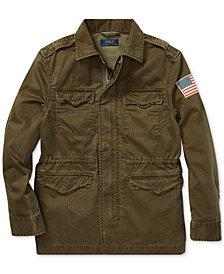 Polo Ralph Lauren Big Boys Cotton Herringbone Jacket
