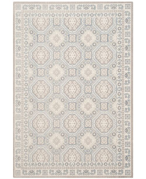 "Safavieh Patina Light Gray and Ivory 5'1"" x 7'6"" Area Rug"