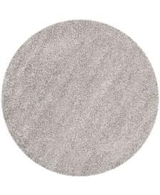 "Safavieh Laguna Silver 6'7"" x 6'7"" Round Area Rug"