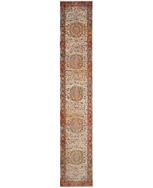 "Safavieh Vintage Persian Saffron and Cream 2'2"" x 10' Runner Area Rug"