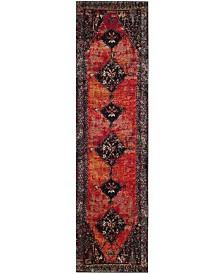 """Safavieh Vintage Hamadan Orange and Multi 2'2"""" x 10' Runner Area Rug"""