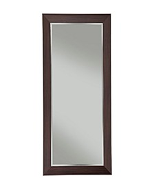 Martin Svensson  Contemporary Espresso Full Length Leaner Mirror