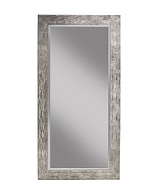 Martin Svensson  Hammered Metal Full Length Leaner Mirror