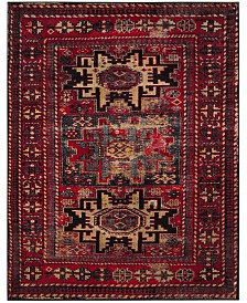 Safavieh Vintage Hamadan Red and Multi 11' x 15' Area Rug