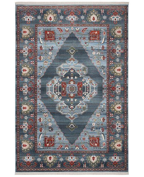 Safavieh Vintage Persian Blue and Light Blue 8' x 10' Area Rug