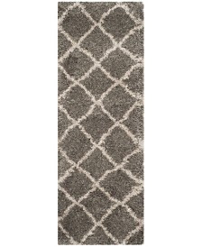 "Safavieh Belize Grey and Taupe 2'3"" x 7' Runner Area Rug"