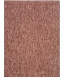 Courtyard Red 8' x 11' Sisal Weave Area Rug