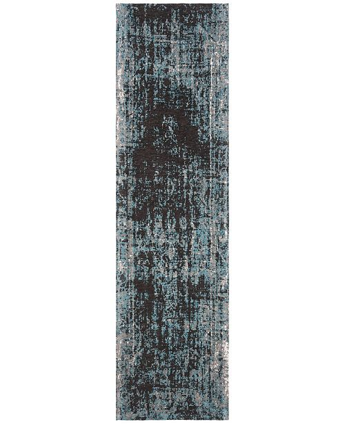 """Safavieh Classic Vintage Teal and Brown 2'3"""" x 8' Runner Area Rug"""