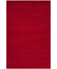 Safavieh Shag Red 6' x 9' Area Rug