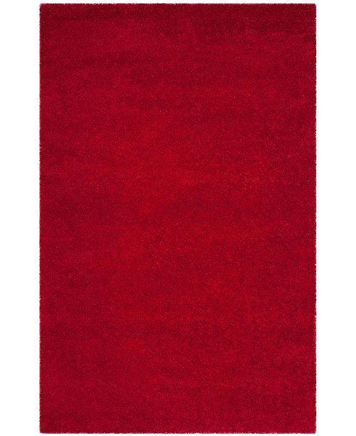 Safavieh Shag Red 6' x 9' Area Rug