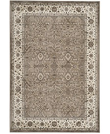 """Atlas Silver and Ivory 5'3"""" x 7'7"""" Area Rug"""