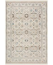 "Safavieh Vintage Persian Ivory and Light Gray 5' x 7'6"" Area Rug"