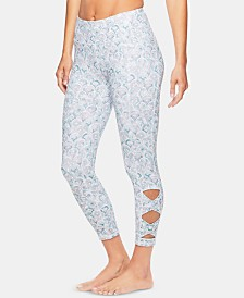 Gaiam Om Flow Printed Capri Leggings