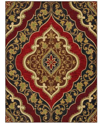 Shaw Living Rugs, American Abstracts Collection 20800 Andora Red