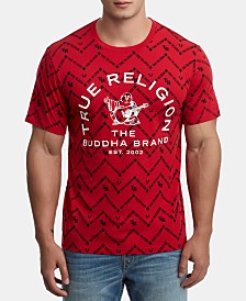 True Religion Men's Monogram Graphic T-Shirt