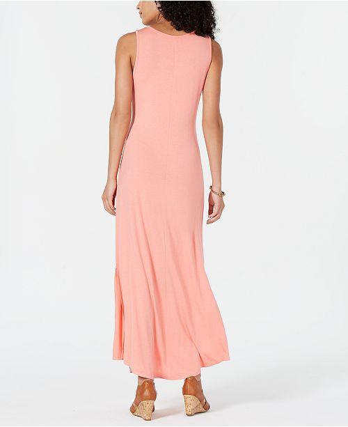 bb53fb1fc29 ... Style   Co Petite Sleeveless Scoop-Neck Maxi Dress