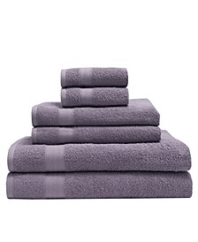 6-Pc. Luxury Absorbent Towel Set