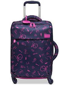 "Lipault Original Plume Comic Trip 20"" Carry-On Spinner Suitcase"