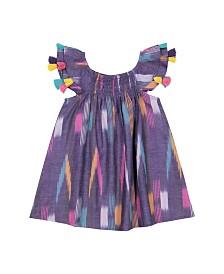 Masala Baby Girls Sundancer Dress Ikat