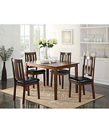 Flihvine 5-Piece Dining Set