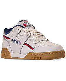 Reebok Men's Workout Plus MU Casual Sneakers from Finish Line