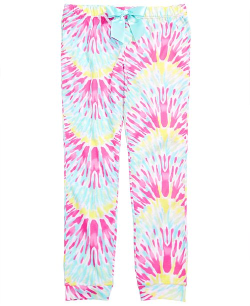 Max & Olivia Little & Big Girls Tie-Dyed Pajama Pants, Created for Macy's