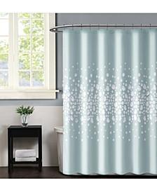 "Christian Siriano Confetti Flowers 72"" x 72"" Shower Curtain"