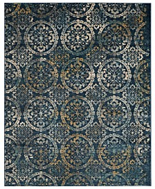 CLOSEOUT! Safavieh Exalt EXA113 Blue 8' x 10' Area Rug